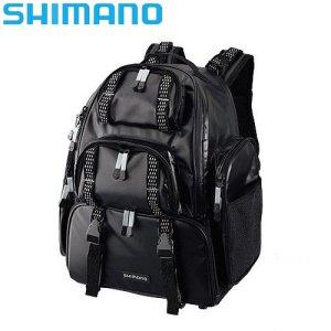 시마노 시스템 백 보조가방 원정낚시 블랙 L DP-072K
