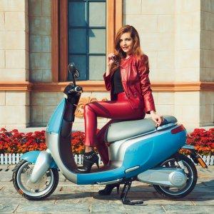전기스쿠터이쿠터 Ecooter E1S Plus 전기오토바이