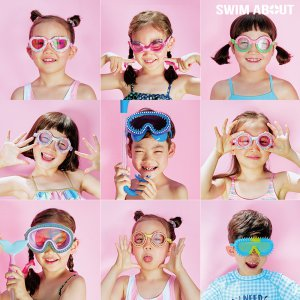 어린이 물안경 고글 스노클 모음전