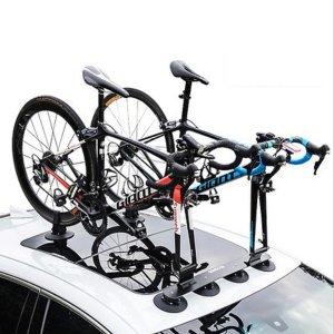 ROCKBROS 흡착식 자전거 거치대 차량용 루프 캐리어