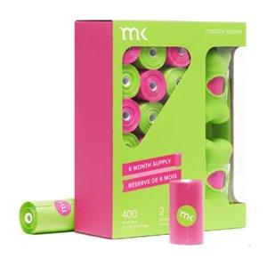 MK 풉백 그린&핑크 디스펜서 2개+20매x20롤