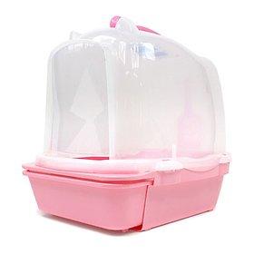 에이스펫 시스템 고양이 화장실 875 핑크