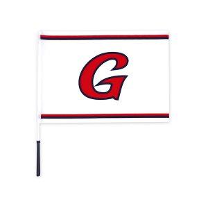 로고 깃발 (화이트)