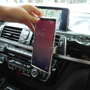 버프 차량용 송풍구 핸드폰 스마트폰 무선 충전 거치