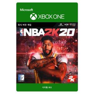 NBA 2K20 디지털코드 문자발송 Xbox Digital Code