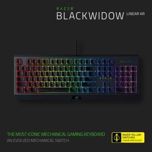 RAZER Blackwidow Linear KR 블랙위도우 리니어