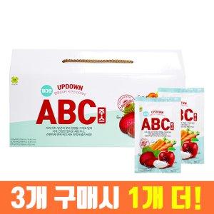 3+1) 업다운 ABC주스 100ml x30포 (선물세트)