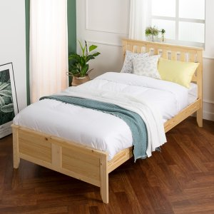 ★기간한정★ [50조한정] 루이스 슈퍼싱글/퀸 원목침대/매트제외