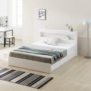 ★긴급특가★ 파로마 캐더린 LED SS/Q 수납침대/침대/LED침대/퀸