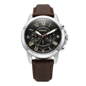 FOSSIL 파슬 FS4813 Grant 남성가죽 45mm