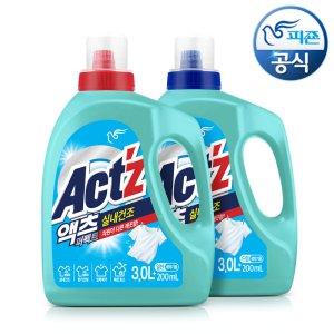 (신제품) 액체세제 액츠퍼펙트 실내건조 3.2Lx2개