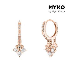 [미코주얼리] 14k 핀 사미넬 귀걸이 MK3EC33