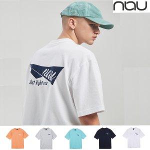 [롯데백화점][나우] NAU 남여공용 타프로고 반팔 티셔츠 1NUTSM1019