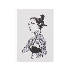 엽서_5월,여자,TATOO