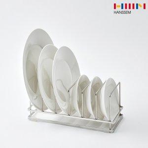 한샘 S.O.K 올스텐 접시 정리대/접시꽂이/수납/보관/