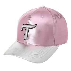 베이직 모자 (핑크 포일)