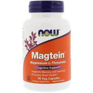 나우푸드 마그네슘 L-트레오네이트 90  캡슐