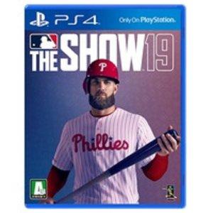 PS4 MLB THE SHOW 19 / MLB19 더쇼19 한국정발 중고