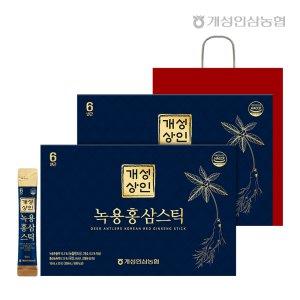 개성상인 녹용홍삼스틱 10ml 30포+30포 /개성인삼농협