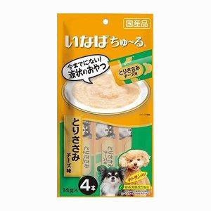 이나바 강아지 츄르 닭가슴살&치즈(D-104) 14gx4개입