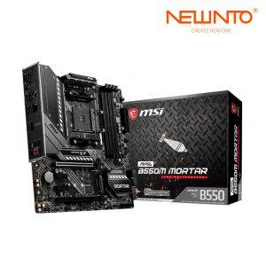 [해외]MSI MAG B550M MORTAR박격포 AMD4 PC메인보드 정품