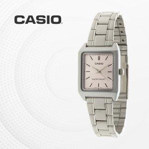 카시오 CASIO LTP-V007D-4E 메탈밴드 여성 손목시계
