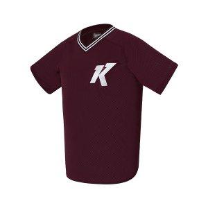 트레이닝 티셔츠 (버건디)