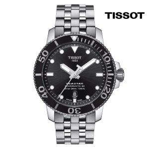 티쏘 씨스타 1000 파워매틱 T120.407.11.051.00 43mm