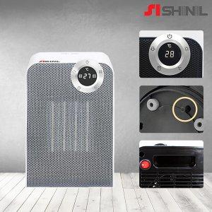 신일 탁상형 PTC 전기히터 온풍기 SEH-T180W