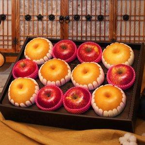 더팜 사과배혼합세트(사과6개,배6개)