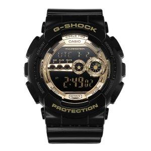 G-SHOCK GD-100GB-1 / 카시오 지샥 빅페이스 흑금