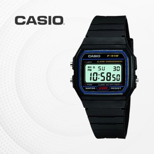 카시오 CASIO F-91W-1 우레탄밴드 군인 전자 손목시계