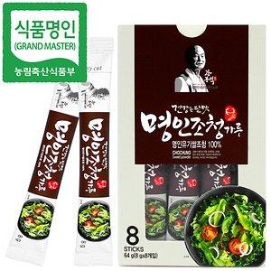 명인 쌀조청스틱 64g/꿀 조청 물엿/국가명인 강봉석