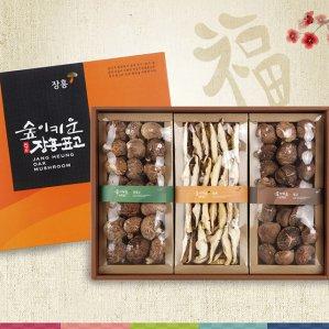 장흥표고버섯 선물세트 흑화고 혼합 2호