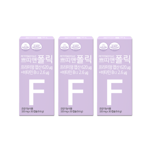 쁘띠앤 폴릭 (3개월/90캡슐) 엽산 임신 임산부 영양제