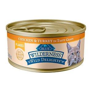[유통기한 2021-02-06] 블루버팔로 윌더니스 어덜트 캣 치킨&칠면조 캔 156g