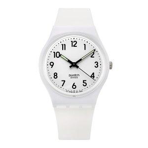 SWATCH 스와치 GW151O 공용 쿼츠 실리콘 시계