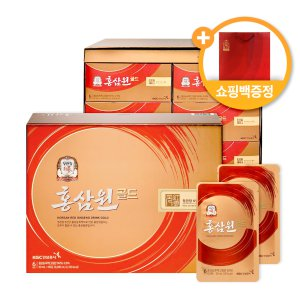 정관장 홍삼원골드 50ml 60포 1박스/쇼핑백/추석선물