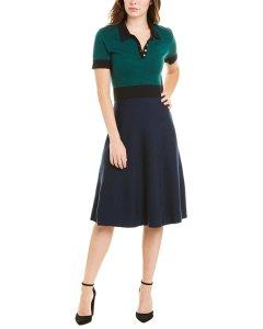 토리버치 셔츠드레스 Tory Burch Colorblocked dress