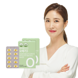 쁘띠앤 오메가3(2개월/120캡슐) 식물성 임산부 영양제