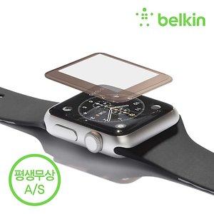 벨킨 애플워치1 시리즈 38mm 강화 유리 필름 F8W837qe