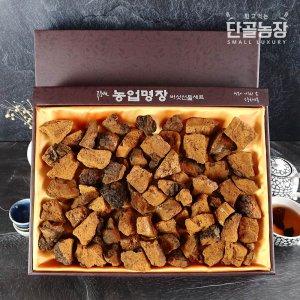 류충현버섯명장 자연산 차가버섯 선물세트 2호 (1kg)