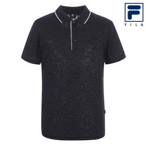 남성 카라 티셔츠 FI4MTA2131M_BLK