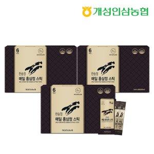 개성인삼농협 한송정 매일 홍삼정스틱 60포 3박스