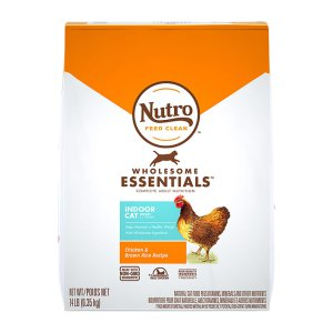 [유통기한 2022-03-15] 뉴트로 인도어 어덜트 캣 닭고기&현미 6.35kg