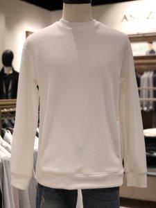 [앤드지] 오버핏 맨투맨 티셔츠 (BLA1TR1002WT) [부산점]