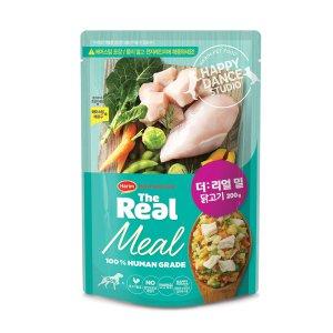 [더리얼] 밀 닭고기 200g