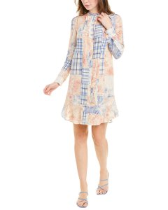 Tory Burch Cora Silk Shift Dress