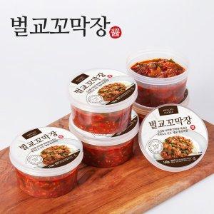 방송출연 벌교 양념꼬막장150g x 5통
