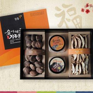 장흥표고버섯 선물세트 천연맛내기 표고세트 2호